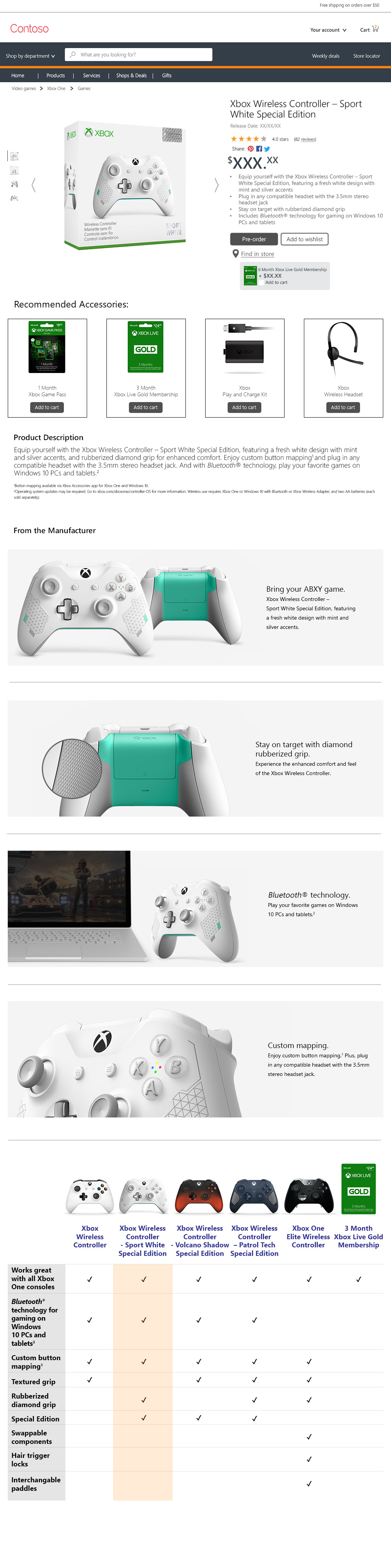 Hung Pham Visual Designer - Xbox assets for amazon & third