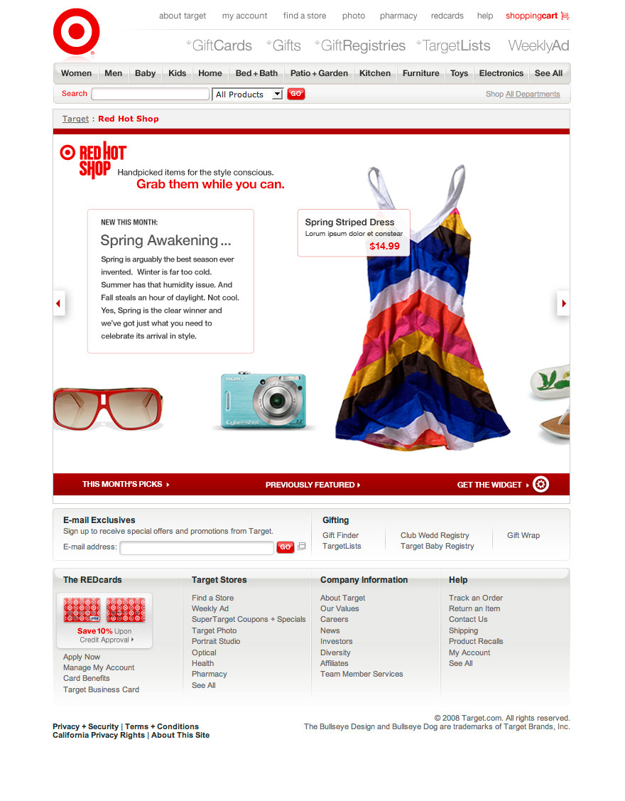 KC SLAGLE - Red Hot Shop for Target com