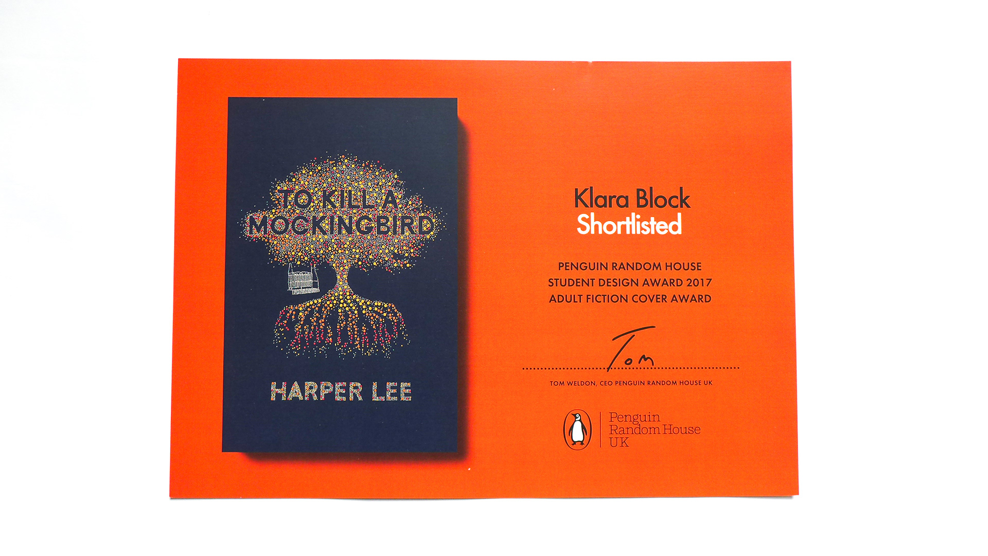 Penguin Book Cover Uk : Klara block penguin book cover design