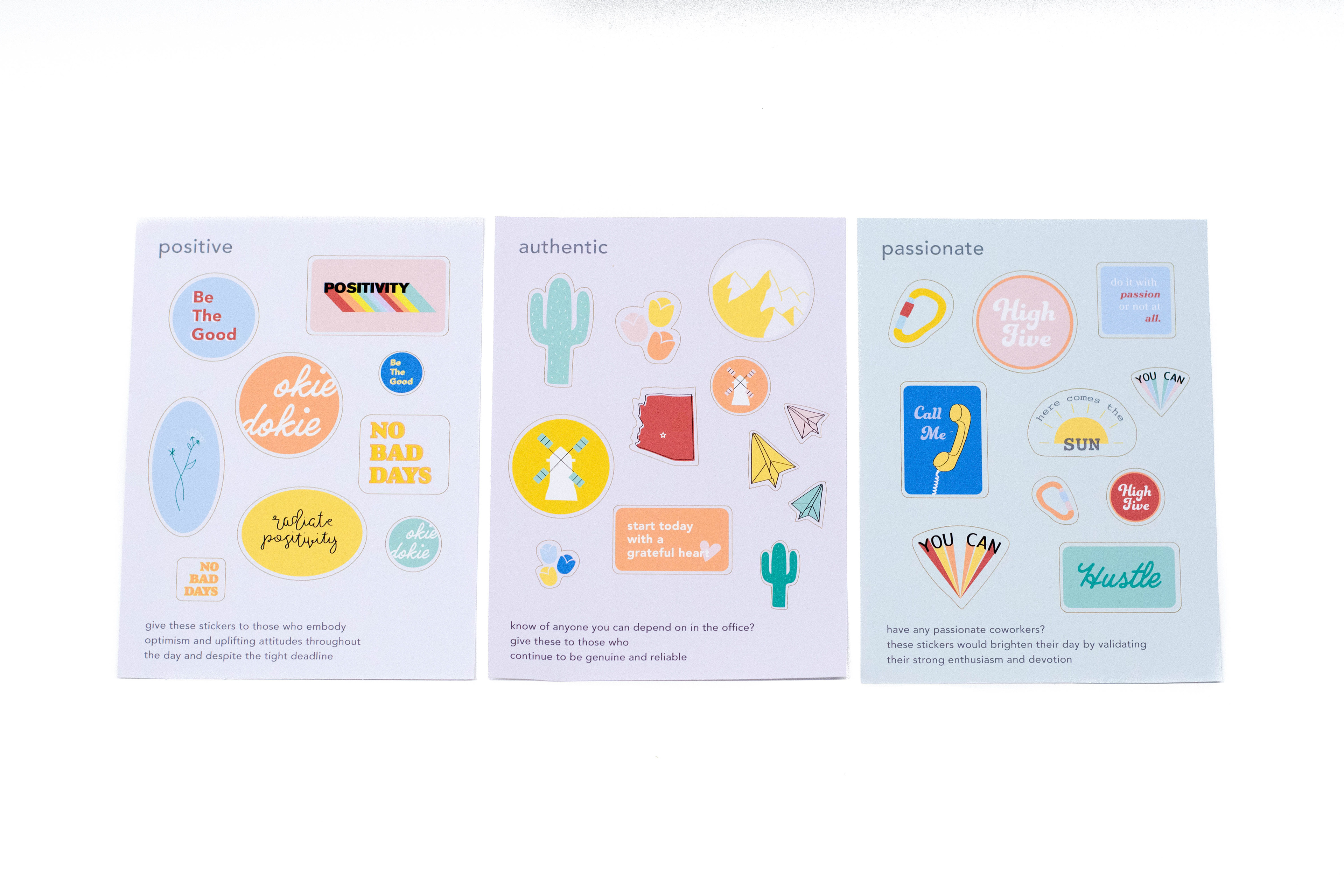This project was made with adobe illustrator and laser cutters to achieve the custom sticker sheet template