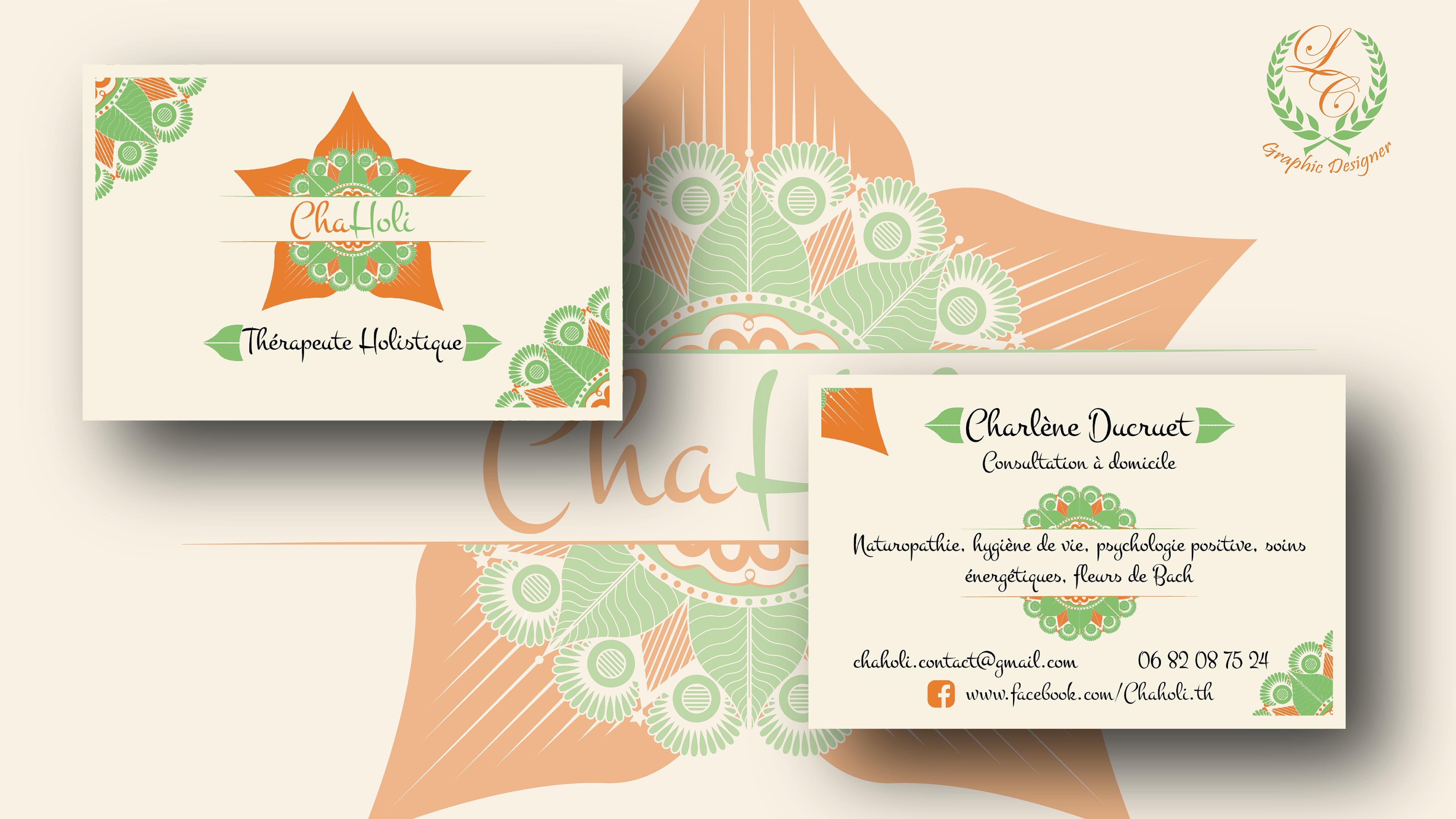 Cration De Cartes Visite LC Graphic Designer
