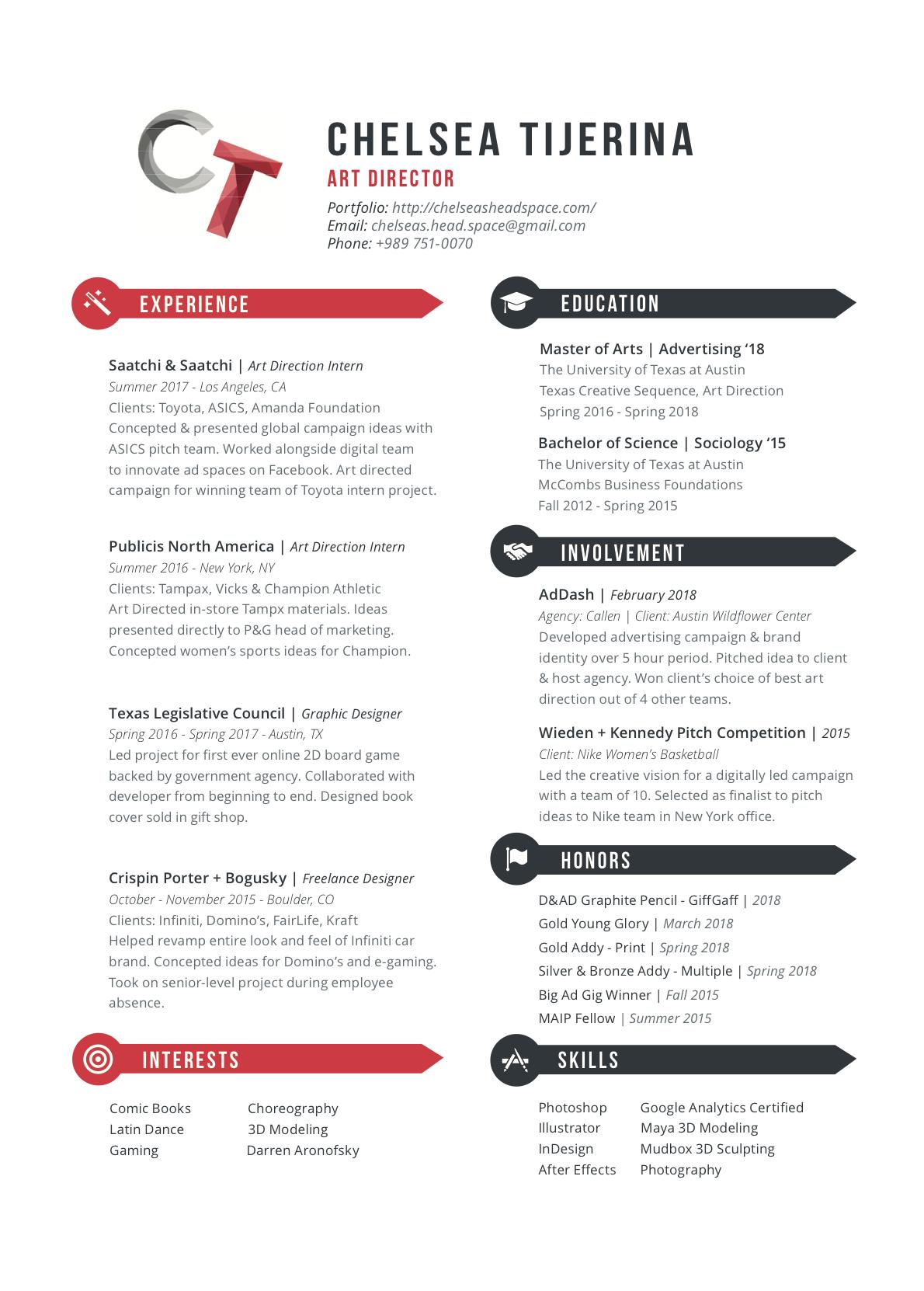 chelsea tijerina resume