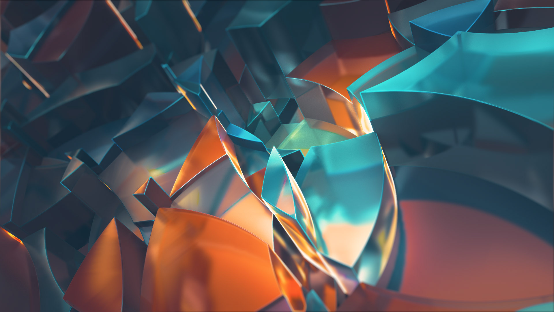 GUI ESP - Motion Design - C4D / Redshift Experiments - 2018