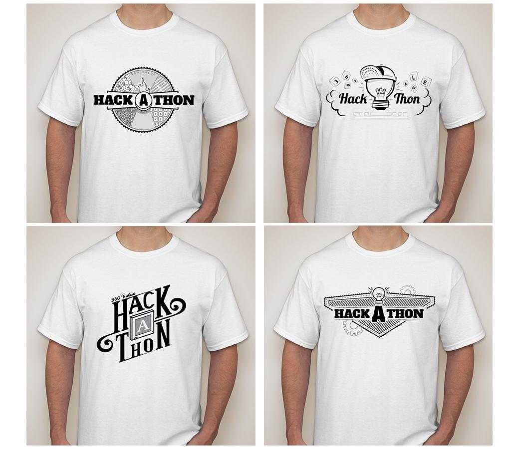 Trent Ross - Hack-A-Thon Shirt Design Finalists