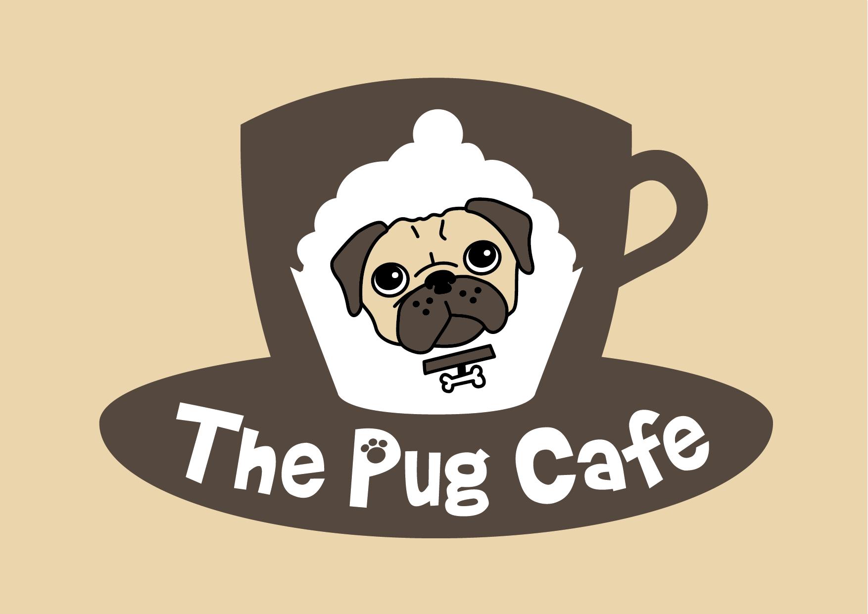neil cooper the pug cafe logo