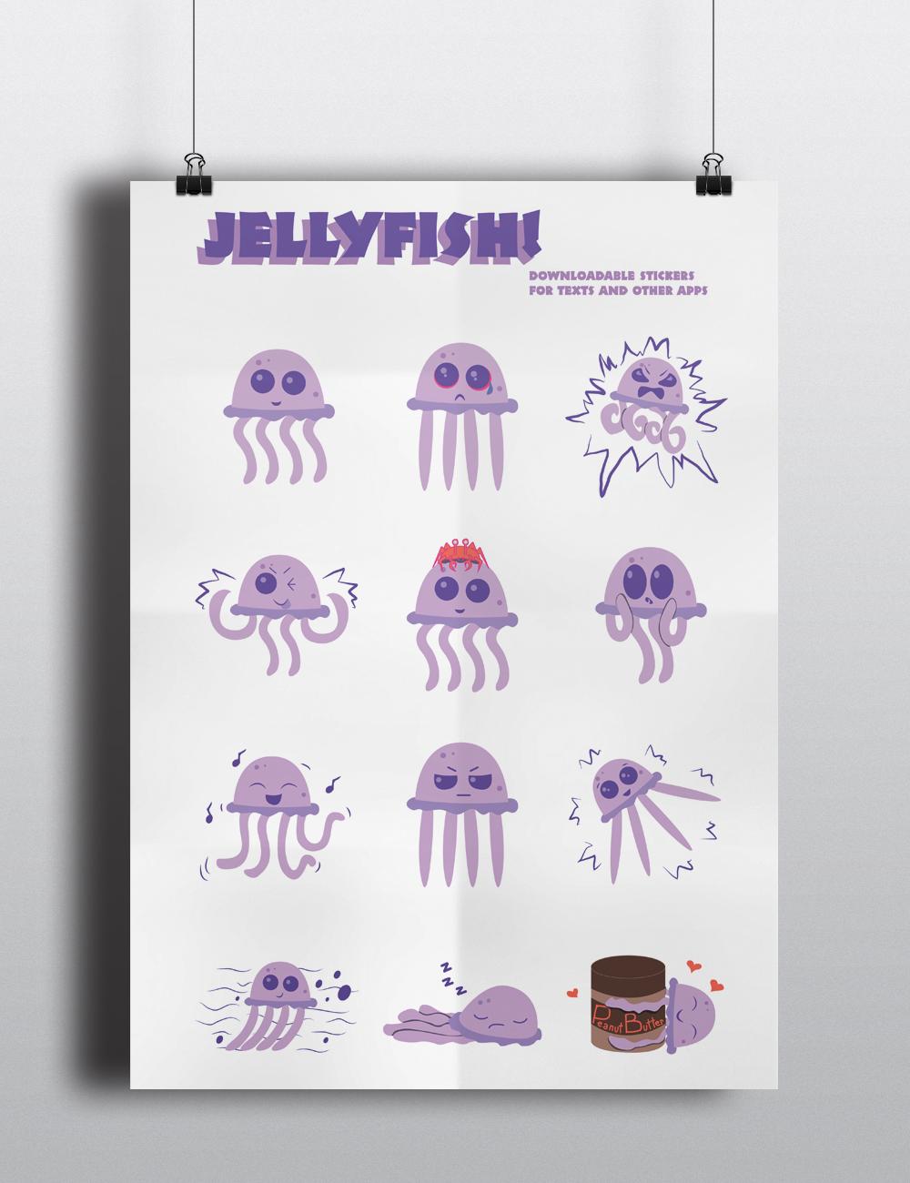 Images of Jelly Fish Emoji - Sabadaphnecottage