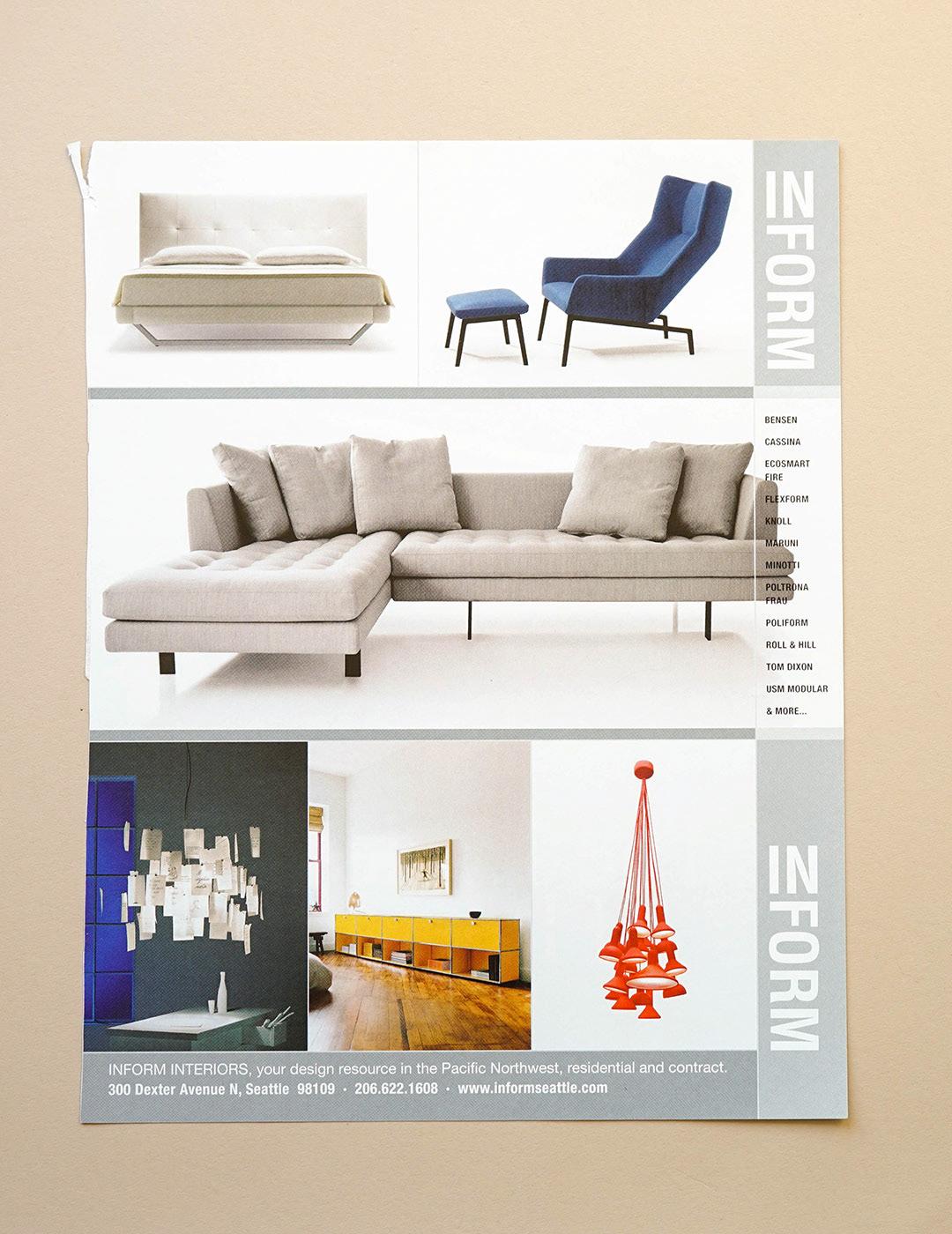 Advertising Retail Furniture