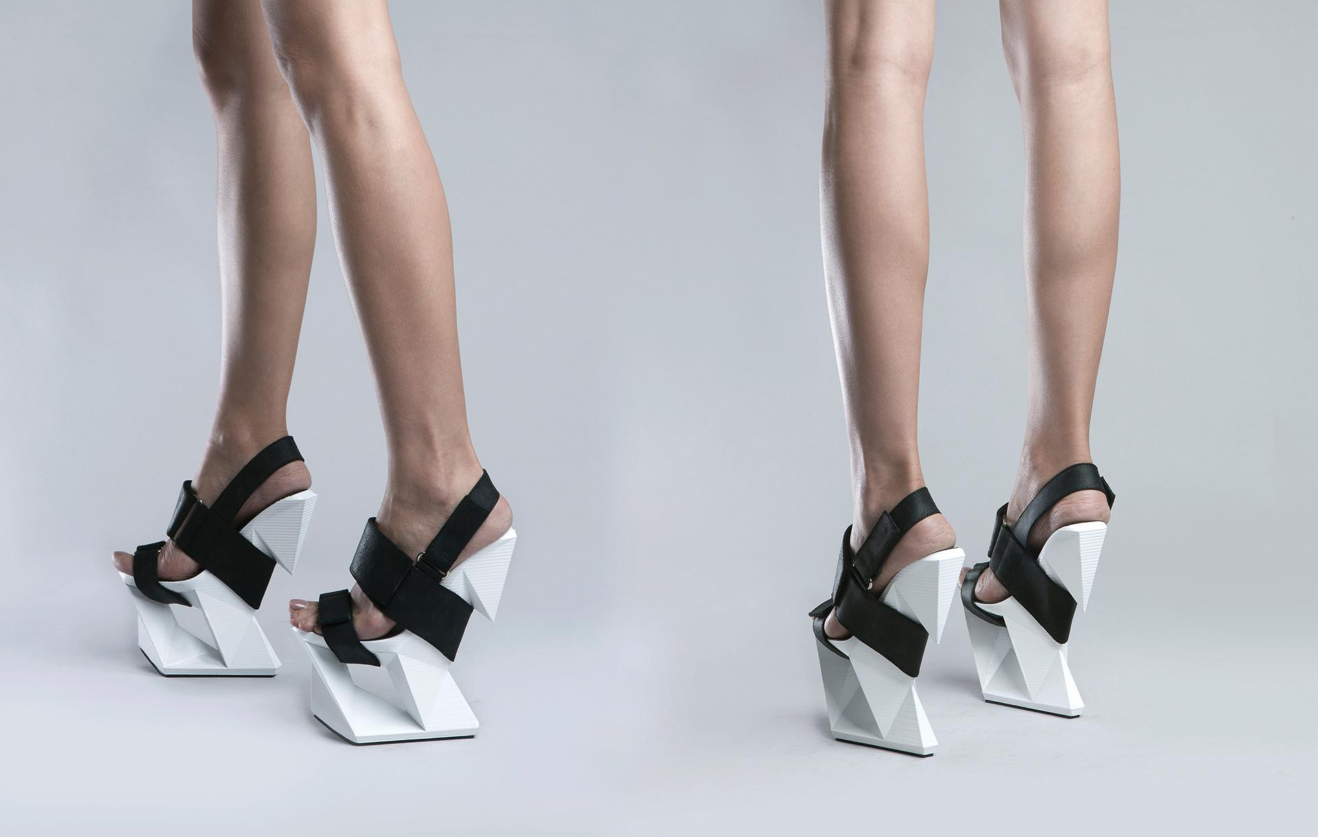 michal kukucka - ICE shoe / 3D printed concept shoe