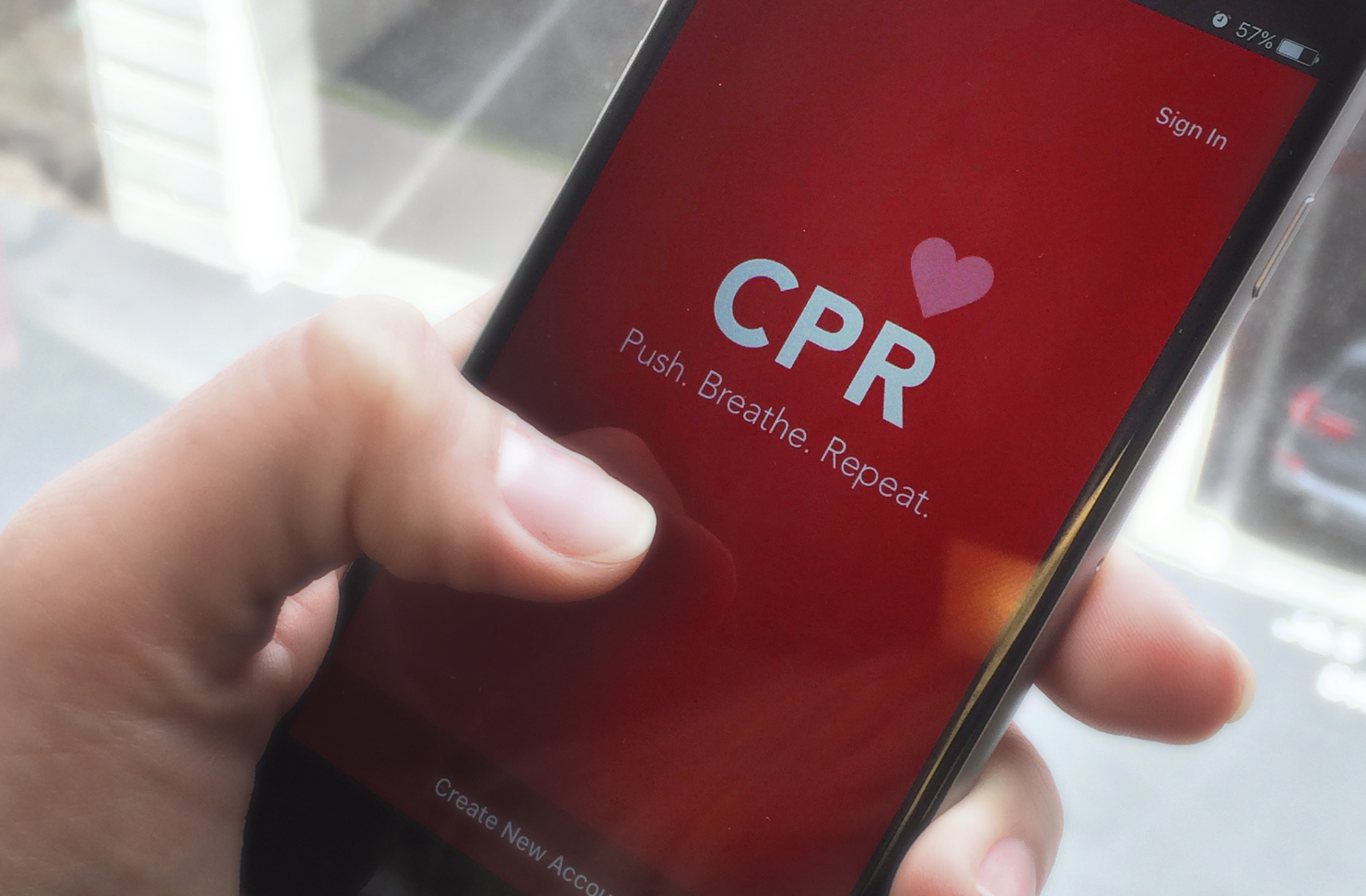 Julia pabiarezhnaia cpr mobile app after successfully completing all the quizzes the user will have the general knowledge of how to perform cpr to get certified the application provides xflitez Images