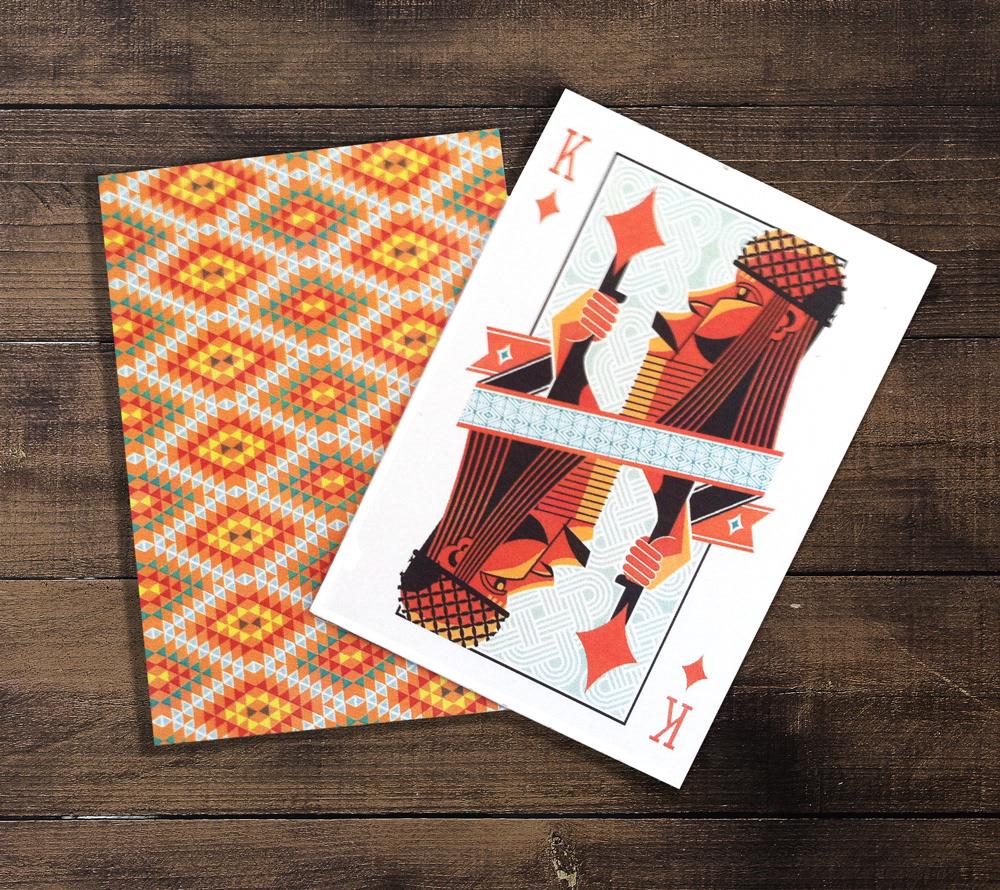 Micaela Nauman - Lost Wax Playing Cards