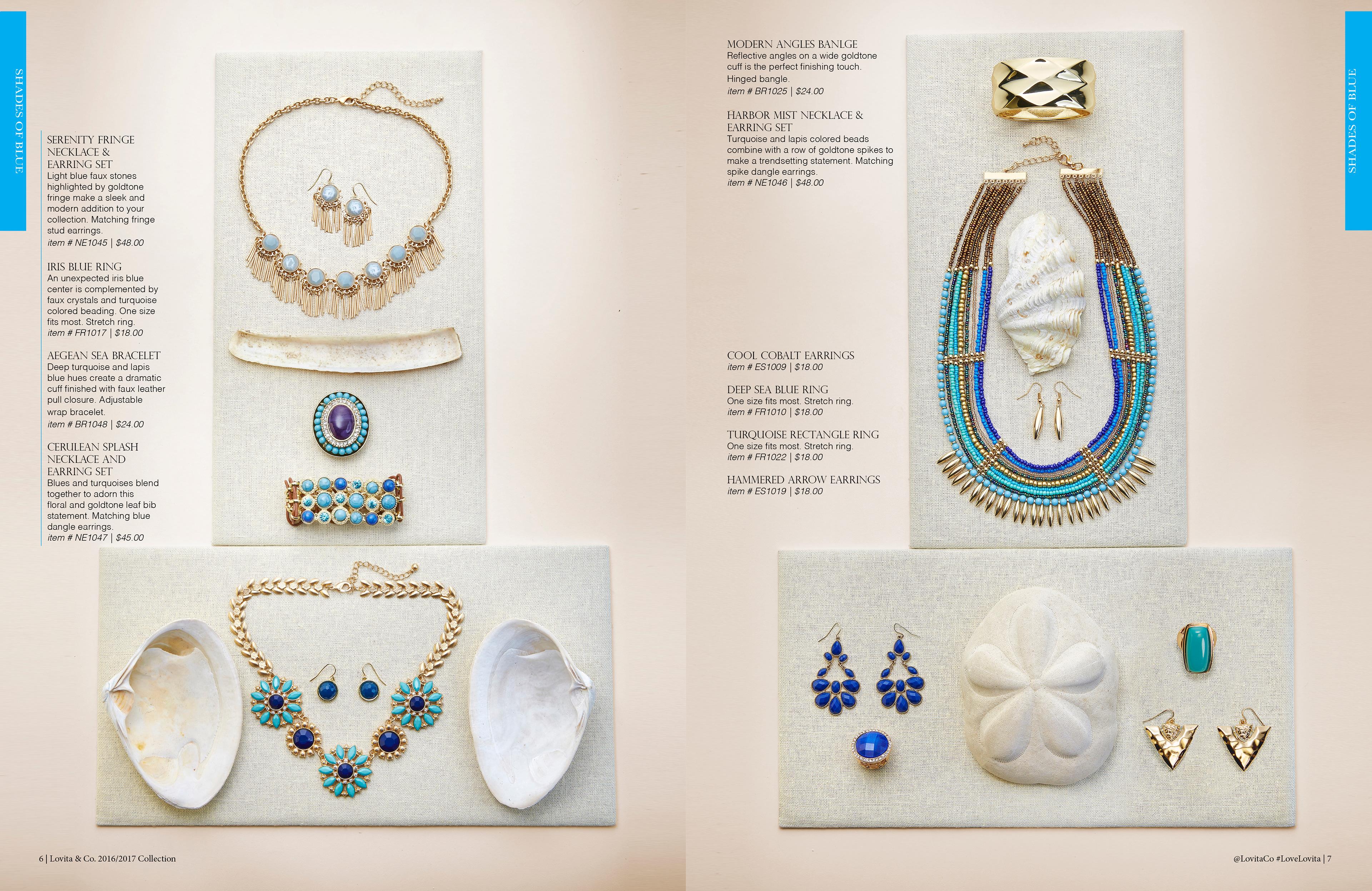 johnathan thilberg lovita jewelry catalog design