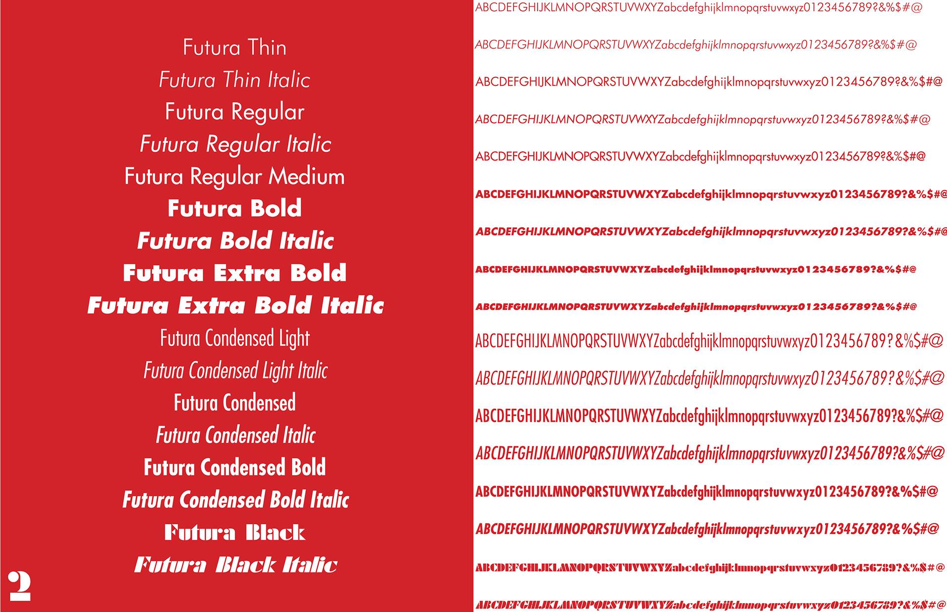 Collin Almanza - Futura Type Specimen Book