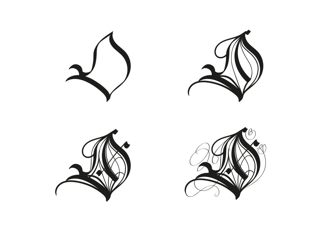 Calligraphical Title Design For A Graphic Novel Fancy Old Fashioned And Decorative Made Entirly Digital Using Tablet Stylus AI