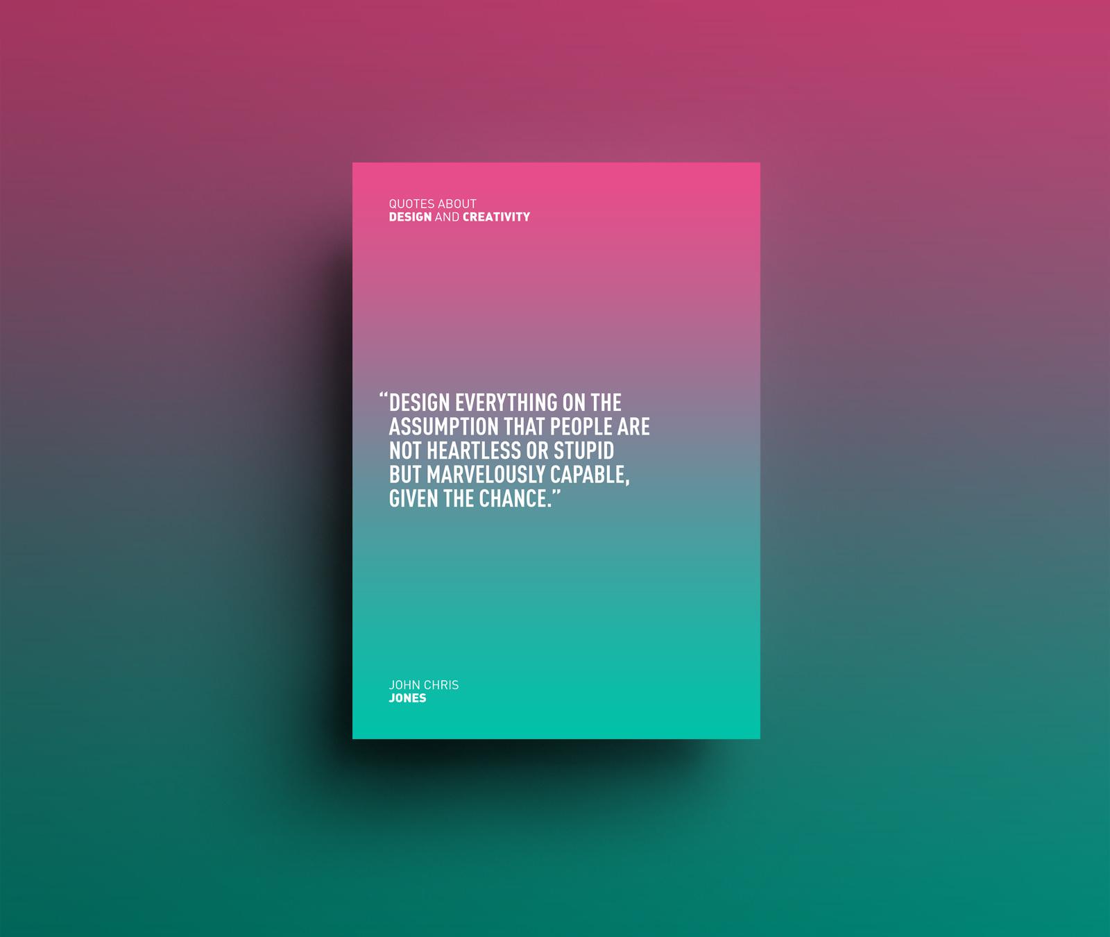 Quotes Design Riccardo Vicentelli  Design And Creativity Quotes