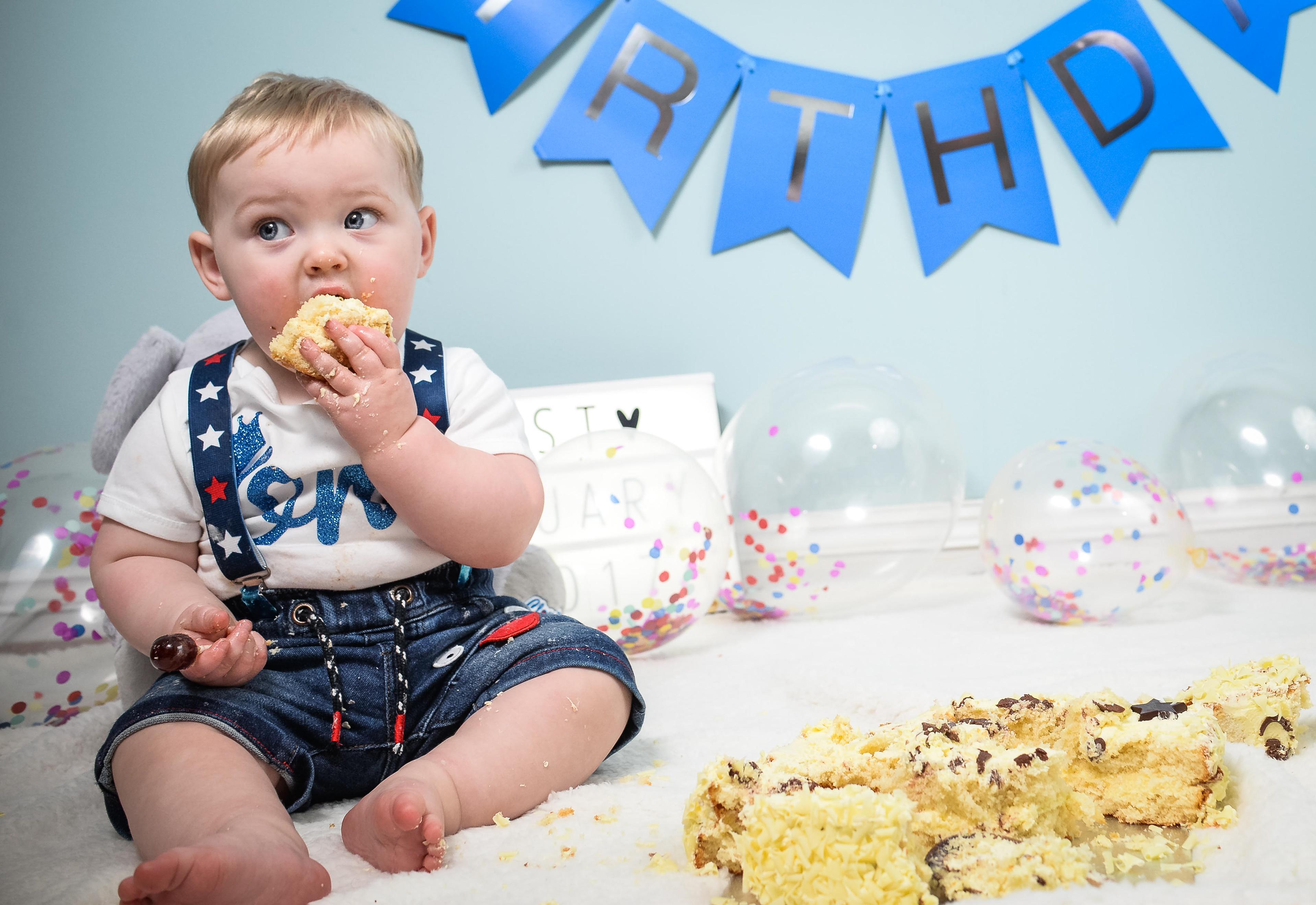 Duo Image Photography Birthday Cake Smash