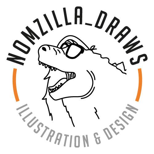 Nomzilla Draws Illustration & Design