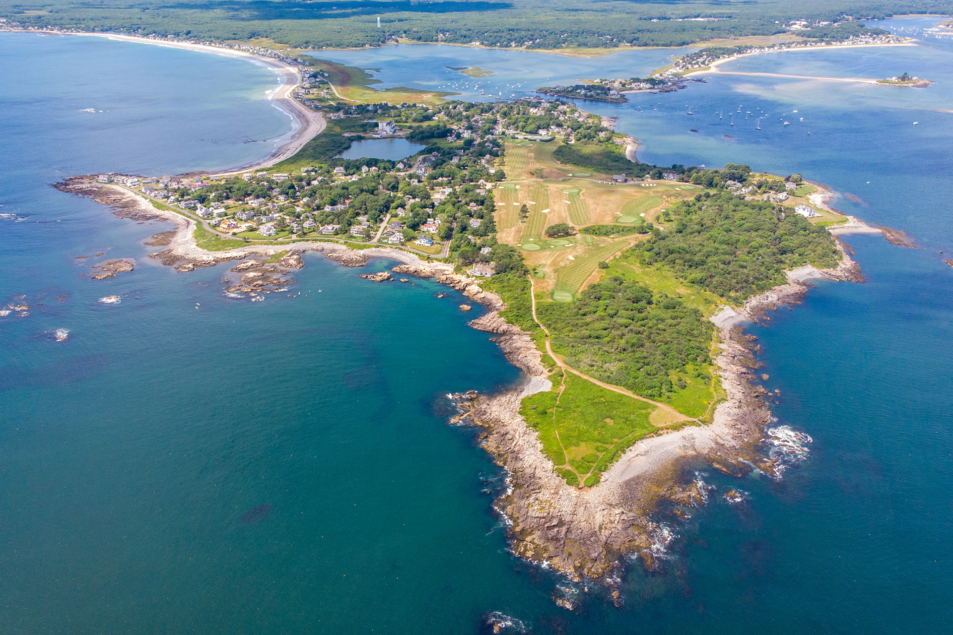 Sam Rowley Aerial Biddeford Pool Maine