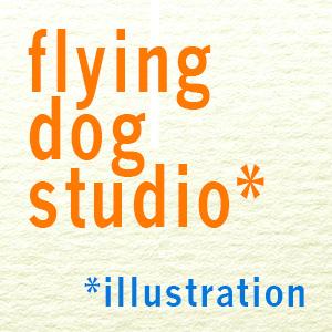 flying dog studio illustration