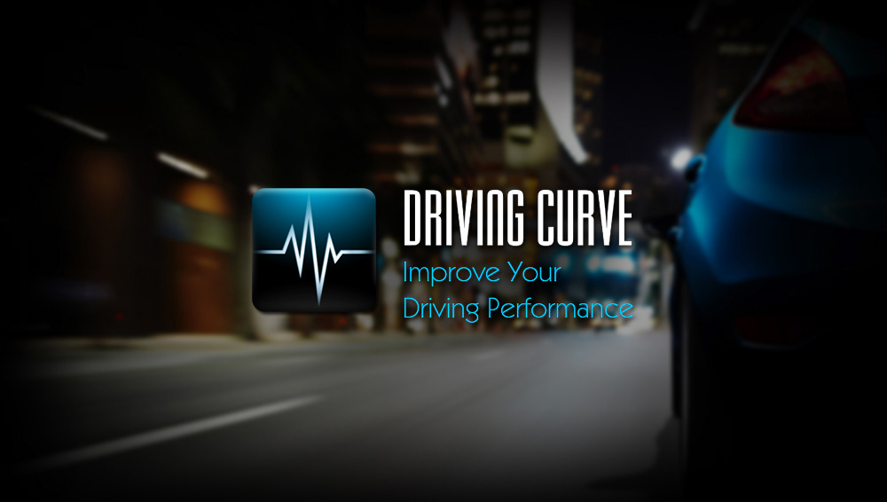 KICK IN Design - Driving Curve (iOS app Design)