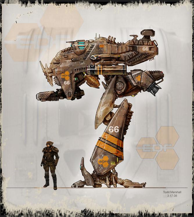 Todd Marshall Concept Art Vehicle Design