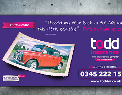 Philip Milnes Todd Insurance Brand Awareness Campaign