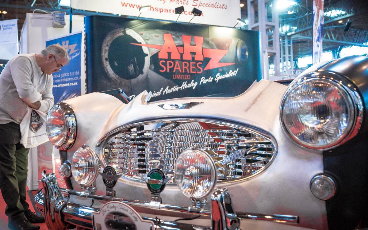 A.H. Spares - NEC Classic Motor Show 2015