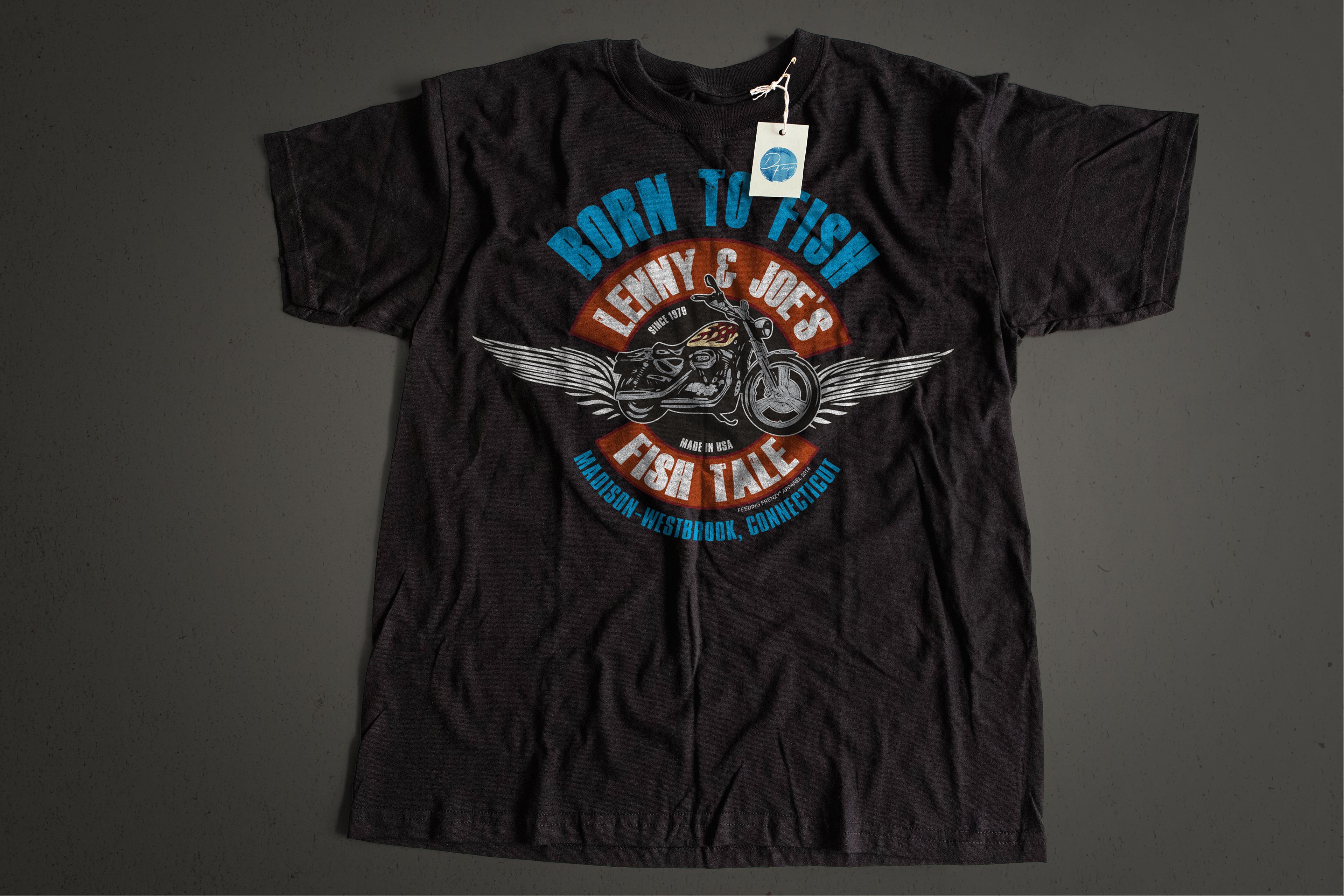 Dave faulkner lenny joe 39 s fish tale tees for Custom bar t shirts