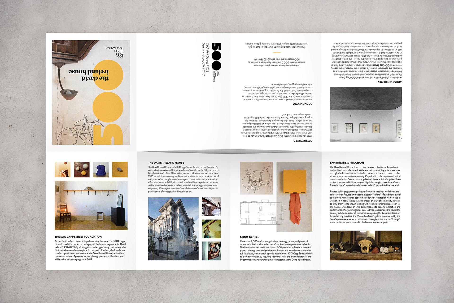 Kristine Arth Creative Direction Graphic Design 500 Capp St