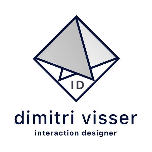 Dimitri Visser Interaction Designer Logo