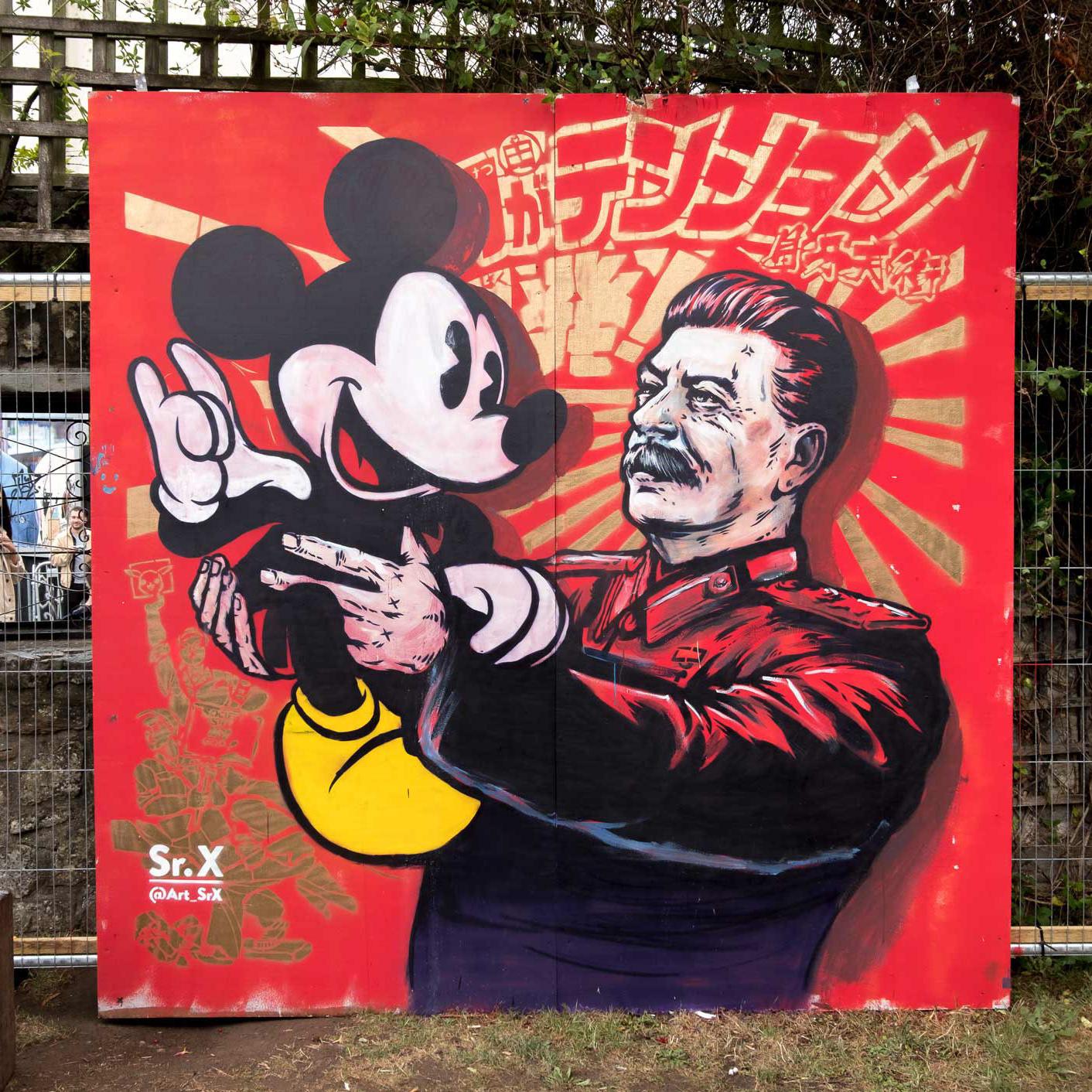 Sr. X - Street Art