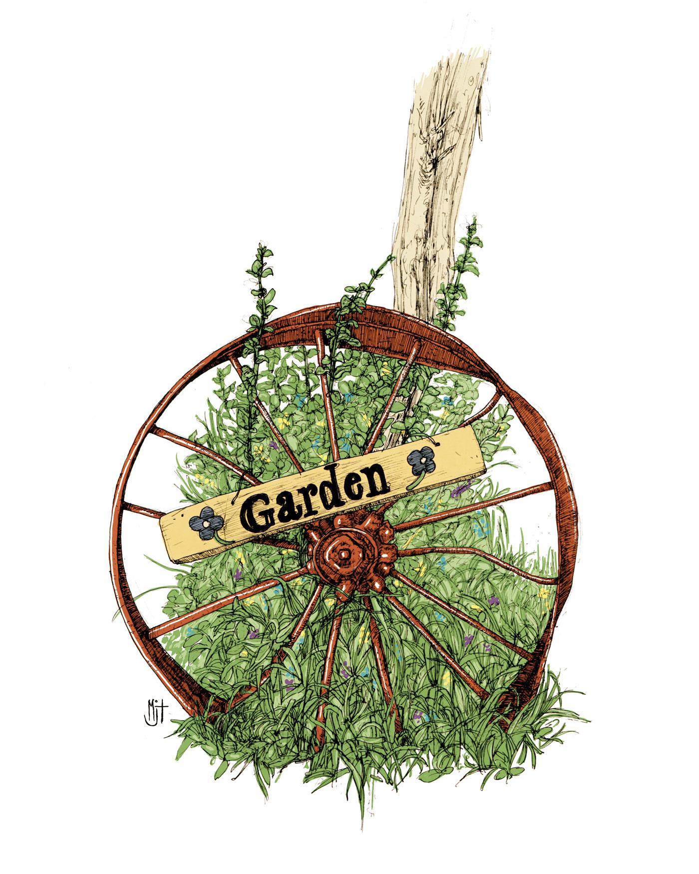 Matthew Trupia - Wheel of Garden