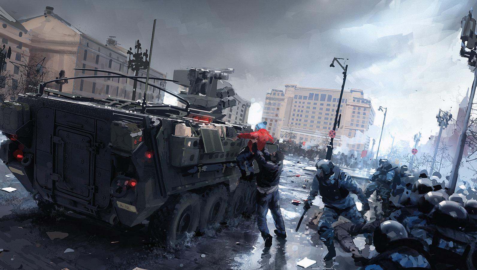 Robert sammelin artworks battlefield 4 concept art - Battlefield v concept art wallpaper ...