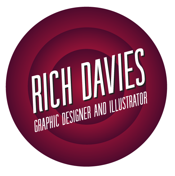 Richard Davies designer and illustrator, UK