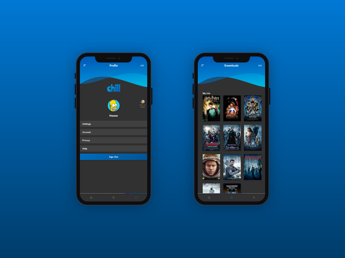 chill movie app