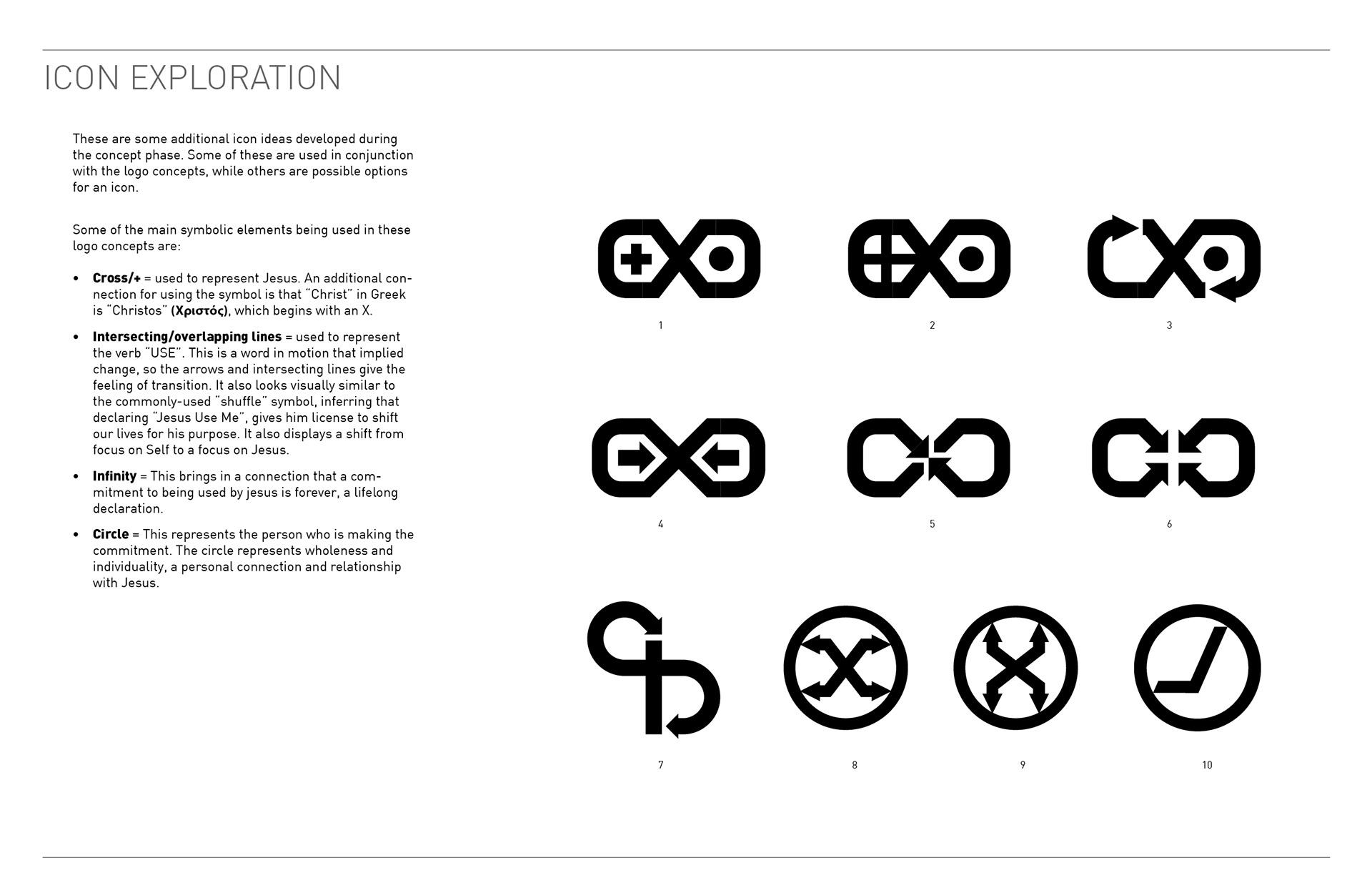 Nathanael Clanton Jesus Use Me Movement Logo Brand Design