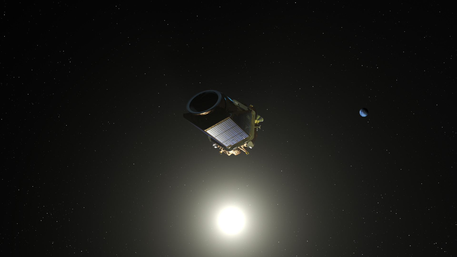 kepler spacecraft information - HD 1920×1080
