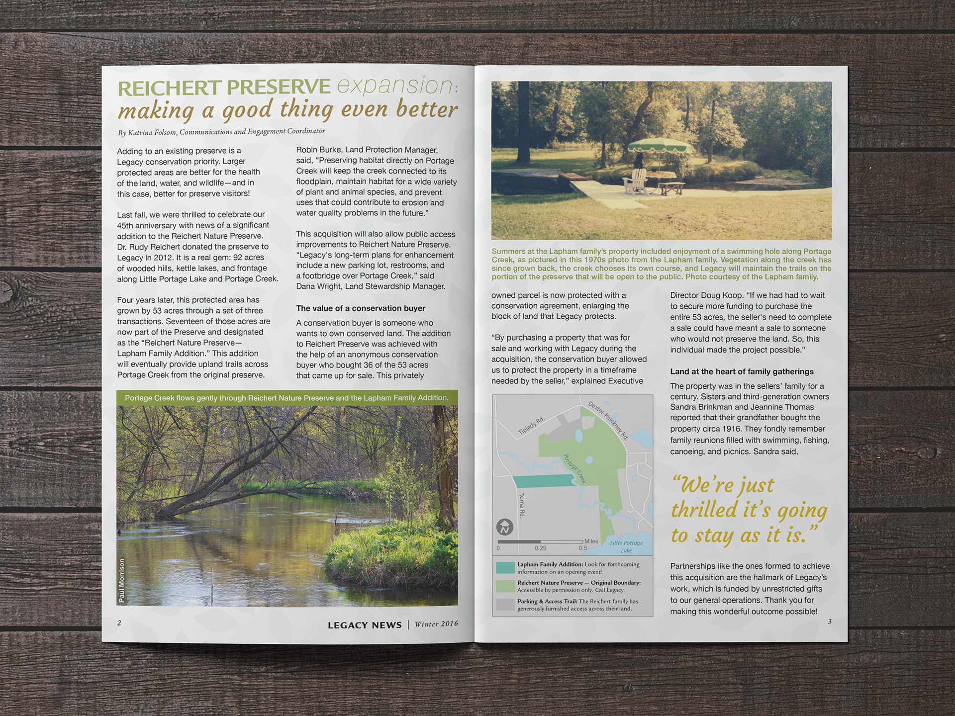 Byway Creative - Legacy Land Conservancy