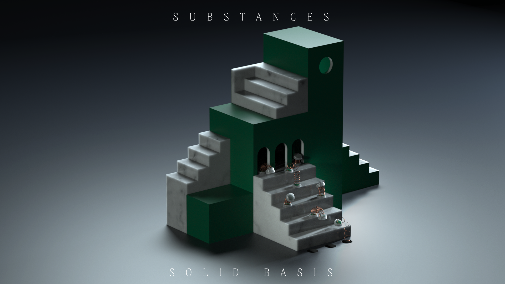 Pablo Alfieri A Sequence Of Statements Series Circuit 3d Animated Model Share