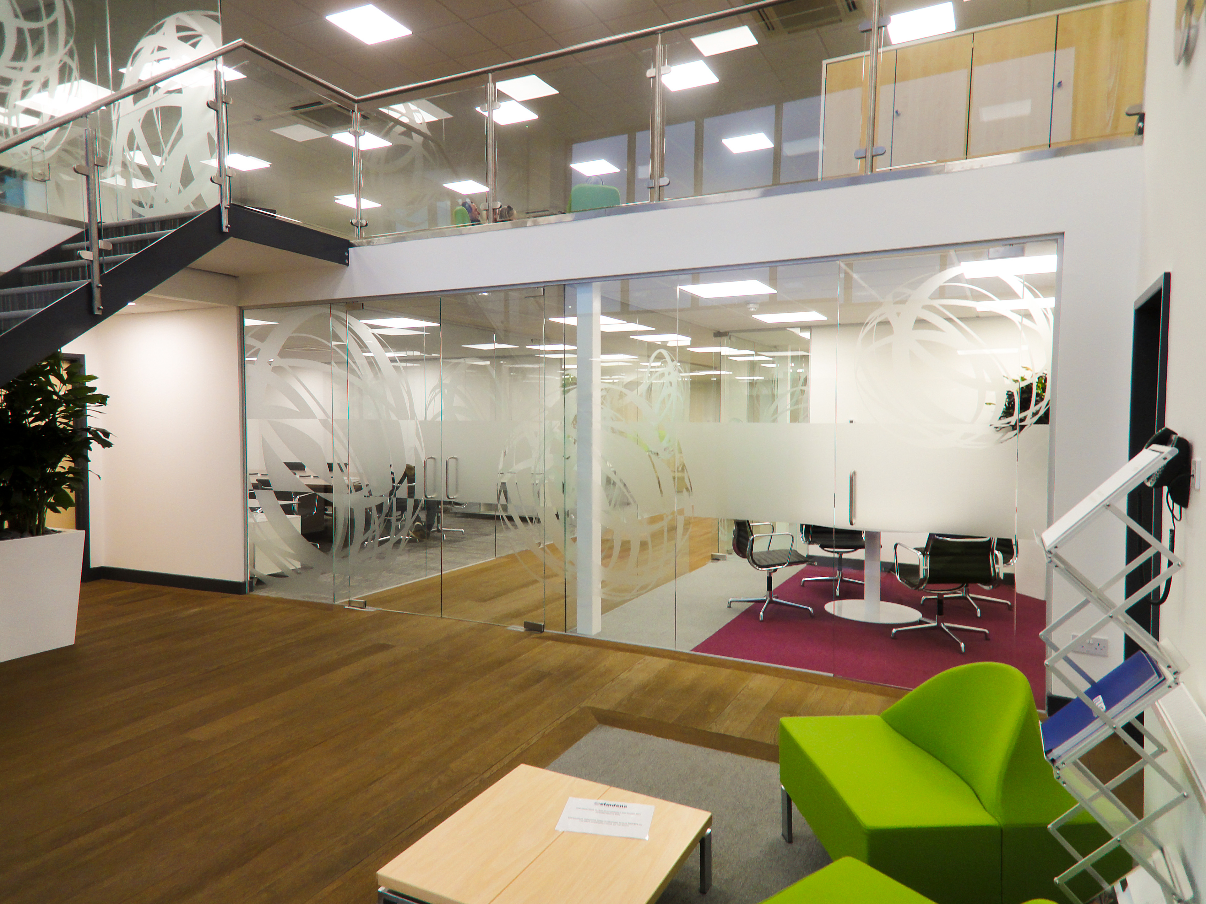 mezzanine office space. Refurbish And Fit-out Of Existing Warehouse To Accommodate New Mezzanine Floor With Ample Office Space For Growing Company.
