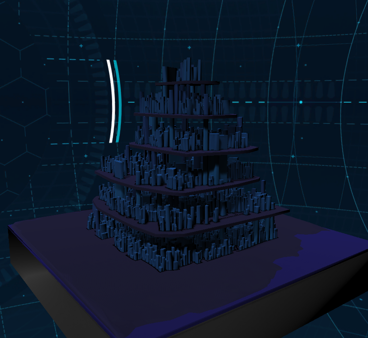 Lain Farlight - Procedural Tower Cities