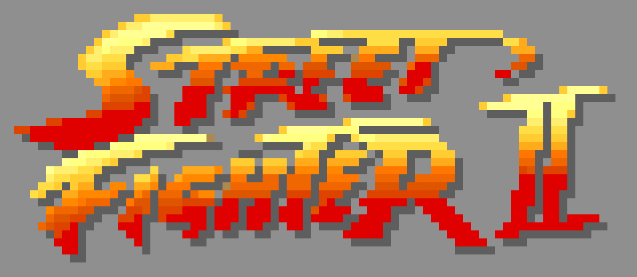 Olivier Huard Street Fighter 2 16x16 Pixels