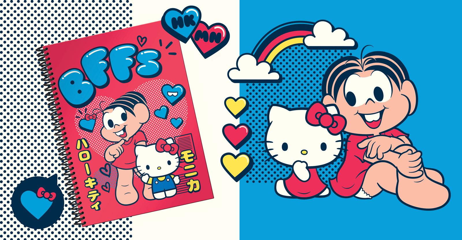 Bruno Okada Monica Hello Kitty