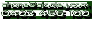 Shane Daley 0402 456 100