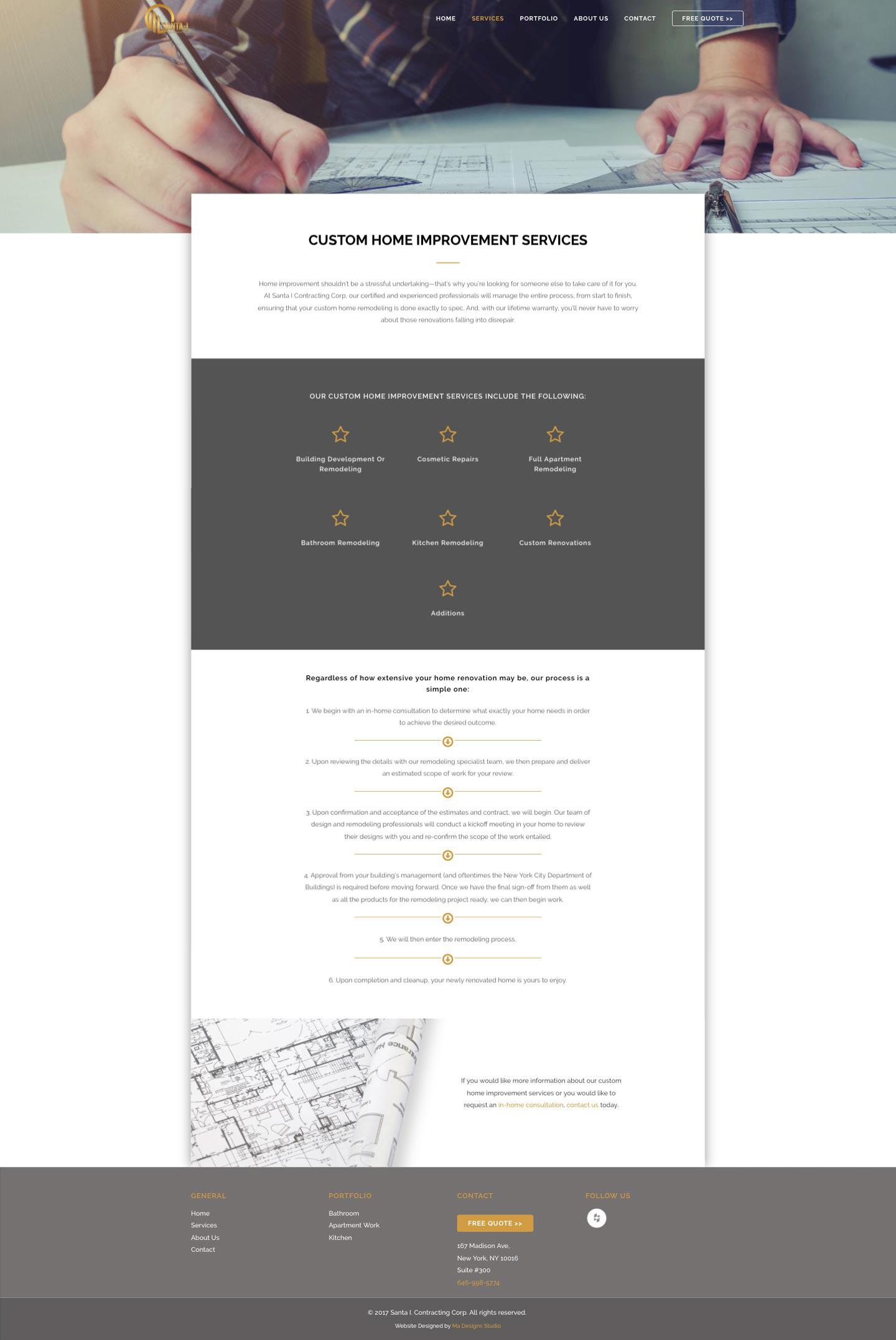 Ma Designs Studio - Santa-I - Web Design and Development
