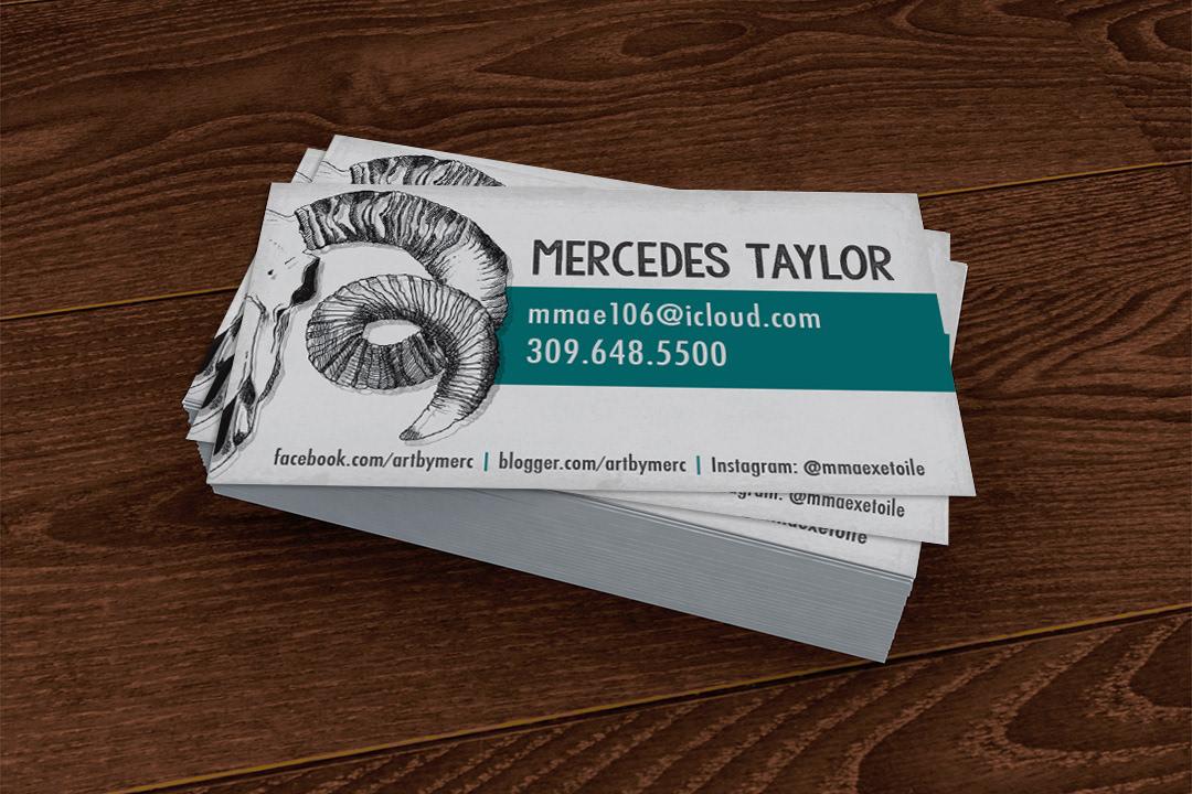 Artist Business Cards - Steffanie Pisula