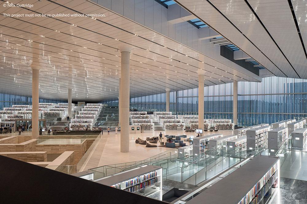 Nick Guttridge Qatar National Library Oma