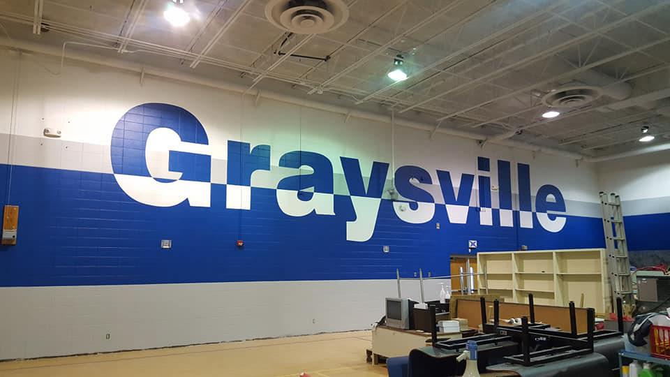 School Gym Murals