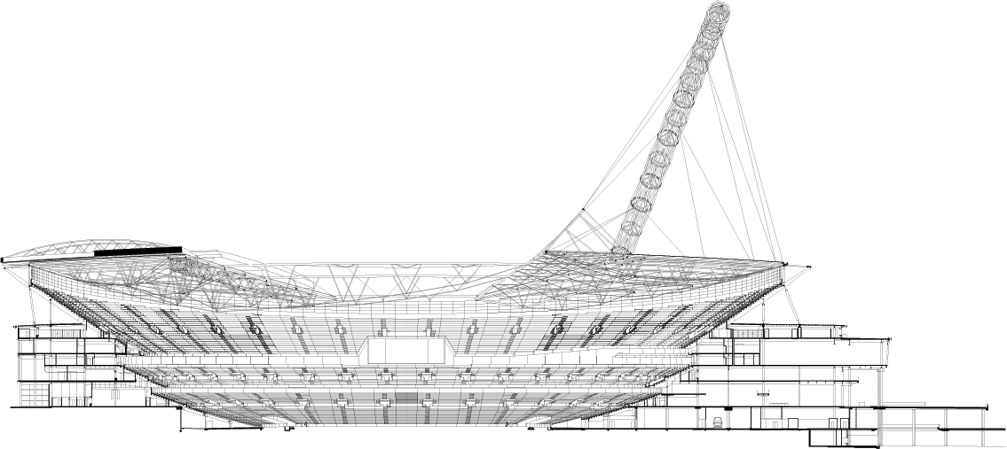 Wembley Stadium Foster Partners further Dolphin Line Art as well 529fd819e8e44ec0e6000068 Digital Museum Claudiu Ionescu Sections likewise Thinking Bubble Image as well 526af182e8e44ee8e1000547 Museum Of The Built Environment Fxfowle Architects Photo. on projects 4
