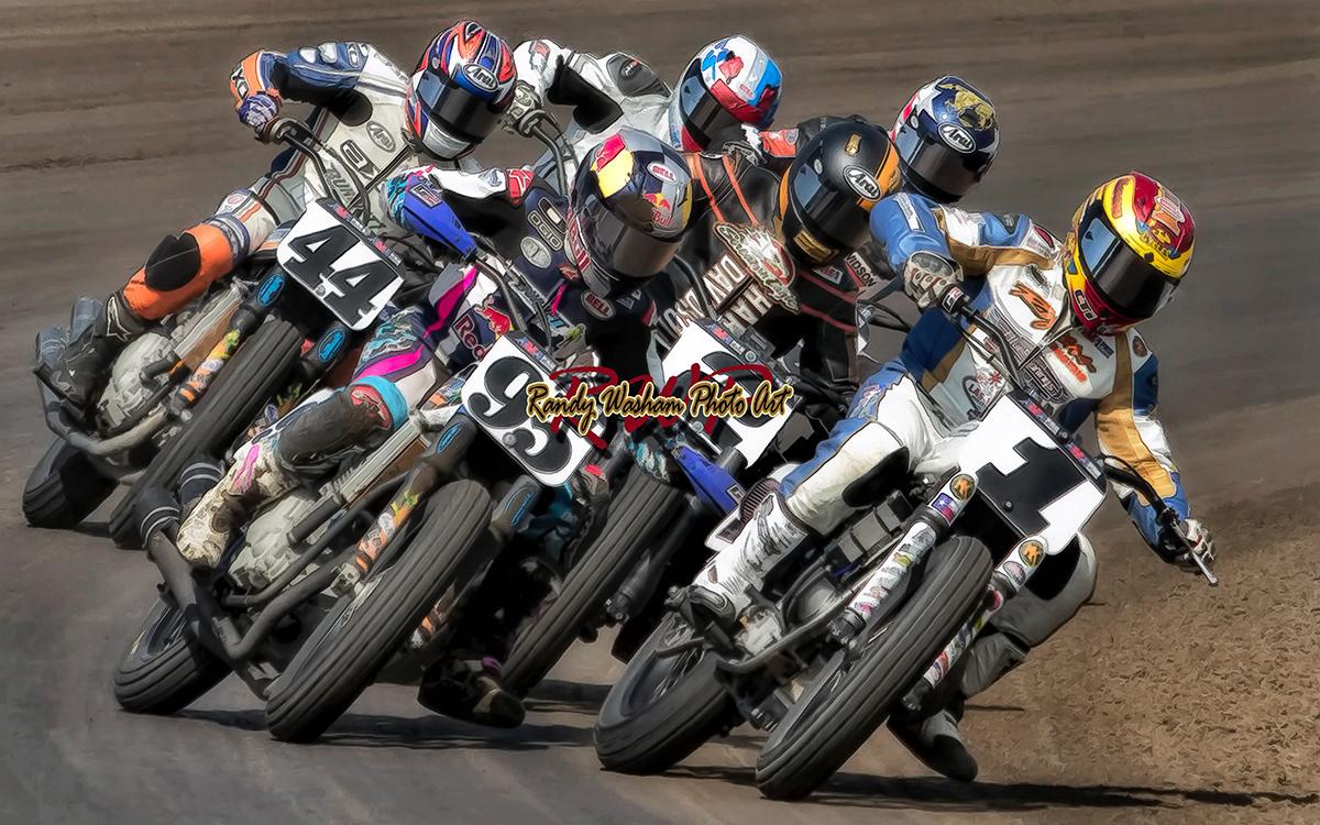 Randy Washam - Flat Track Racing