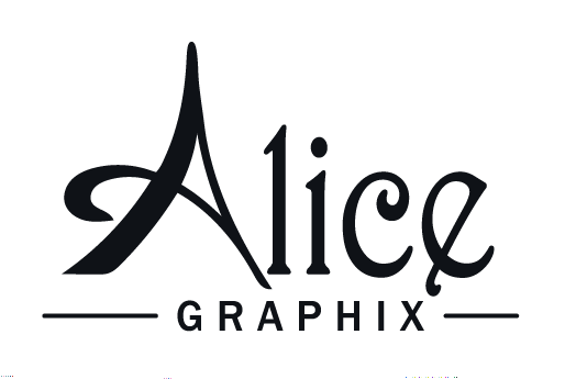 Alice Graphix Text Logo